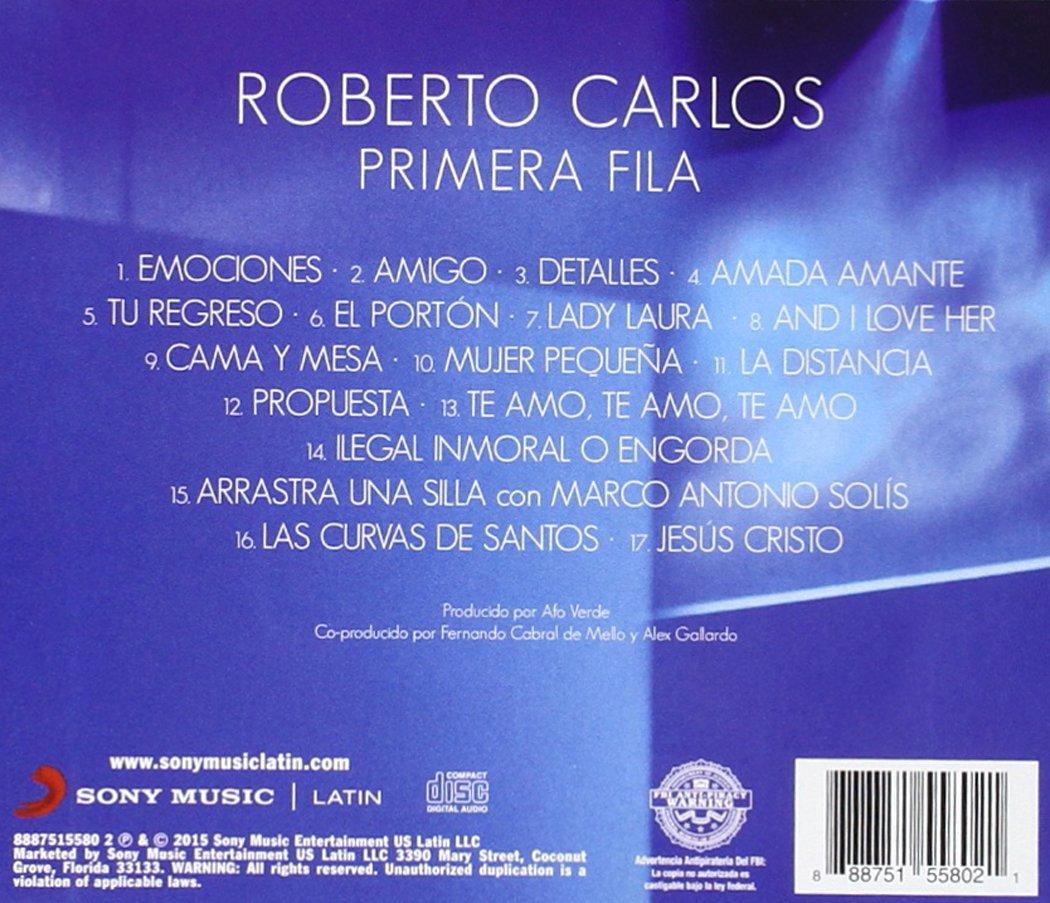 Roberto Carlos - Primera Fila - Amazon.com Music
