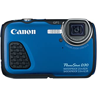 Canon D30 waterproof camera