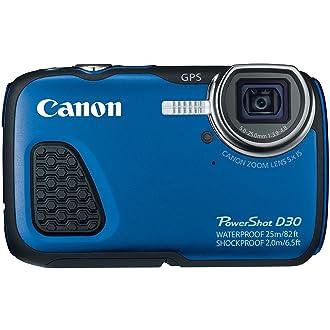 Canon D30 waterproof camera