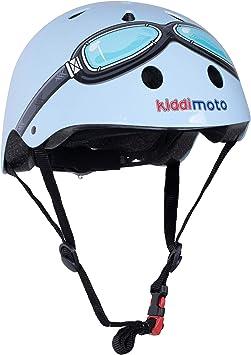 Ciclismo Bicicleta de Equilibrio y Monopatin KIDDIMOTO Casco Bicicleta Completamente Ajustabl Scooter Bici Casco para Infantil y Ni/ños para Patinete