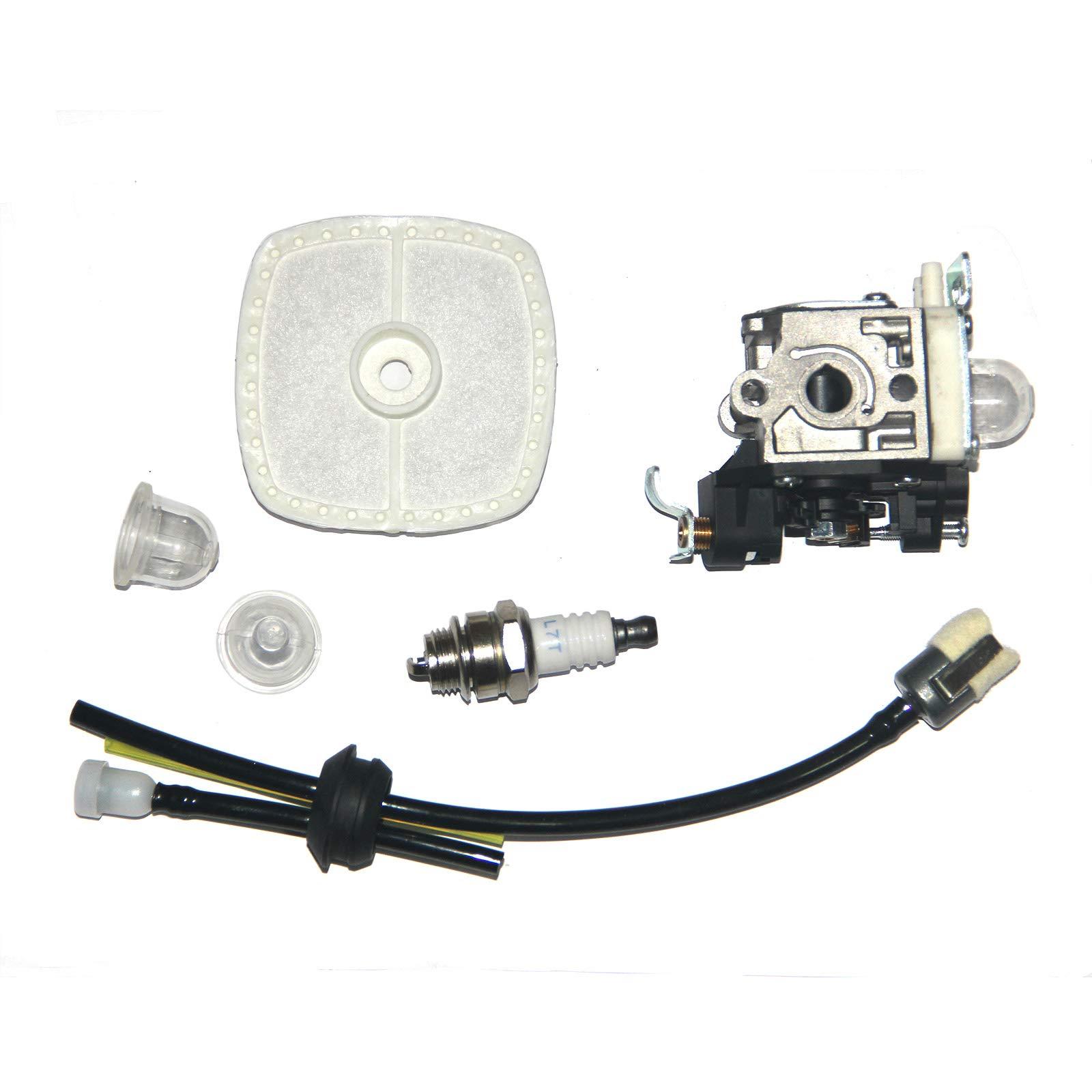PB-265L Carburetor for Echo PB-251 RB-K85 Fuel Line kit with Spark Plug Primer Bulb PB-265LN Power Blowers Carb A021001350