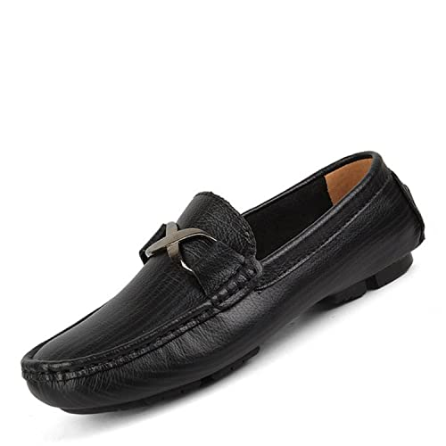 3d65e4947503f Bradleybla Fashion Spring Autumn Casual Men Loafers Slip-on Leather ...
