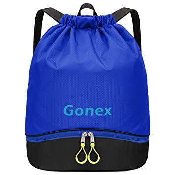 Amazon.com: Gonex Mochila impermeable con cordón, bolsa de ...