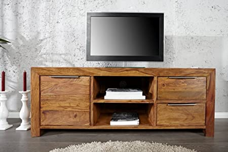 Casa Padrino Mueble TV Natural W.135 x H.50 x D45 - aparador ...