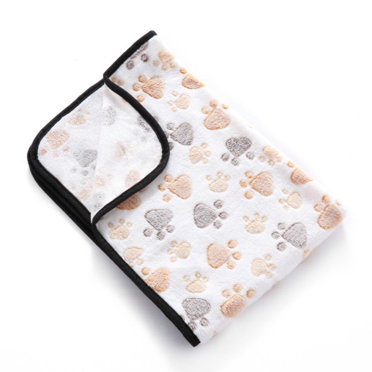 PetBoBo Pet Dog Cat Puppy Blanket Warm Dog Cat Warm Blankets Pet Sleep Mat Pad Bed Cover, Soft Blanket for Pet, Super Soft Micro Plush Pet Blanket Cushion Mat for Animals