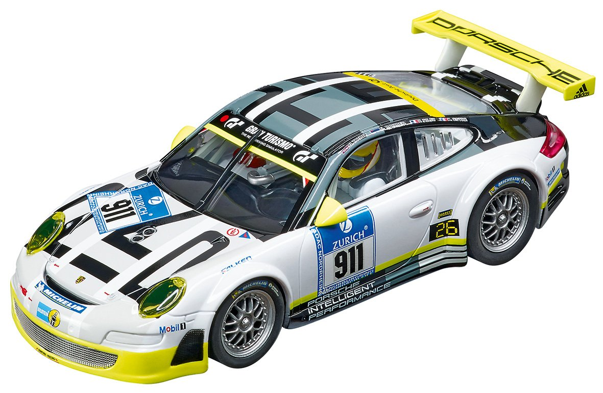 Carrera Digital 132 Slot Car Racing Vehicle - 30780 Porsche 911 GT3 RSR Manthey Racing Livery - (1:32 Scale)