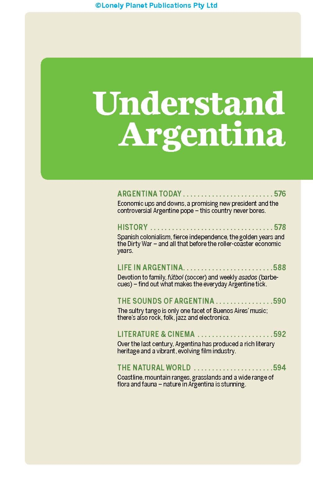 Lonely Planet Argentina 10th Ed : 10th Edition: Lonely