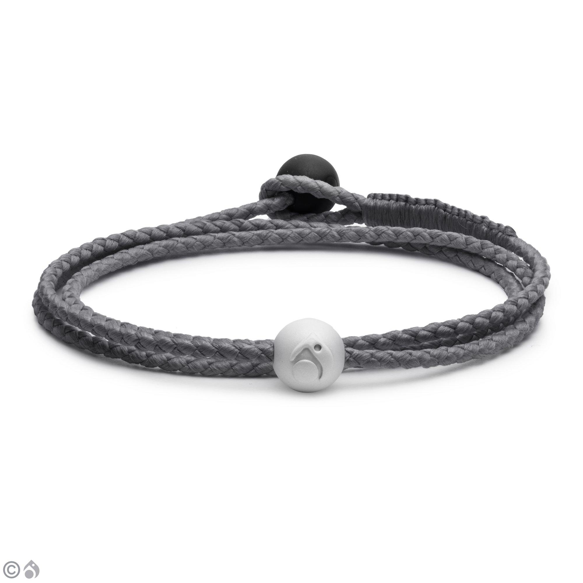 Lokai Triple Wrap Bracelet, Silver, 6.5'' - Medium by Lokai