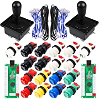 EG STARTS 2 Player Classic Arcade Game DIY Part for Mame USB Cabinet Zero Delay USB Encoder to PC Games 8 Way Joystick…