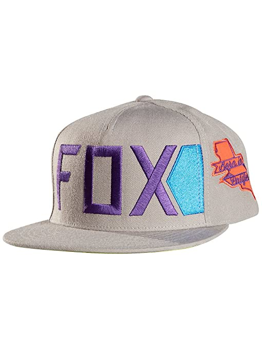 Gorra Fox Racing: Extrovert Snapback Hat GR: Amazon.es: Deportes y ...