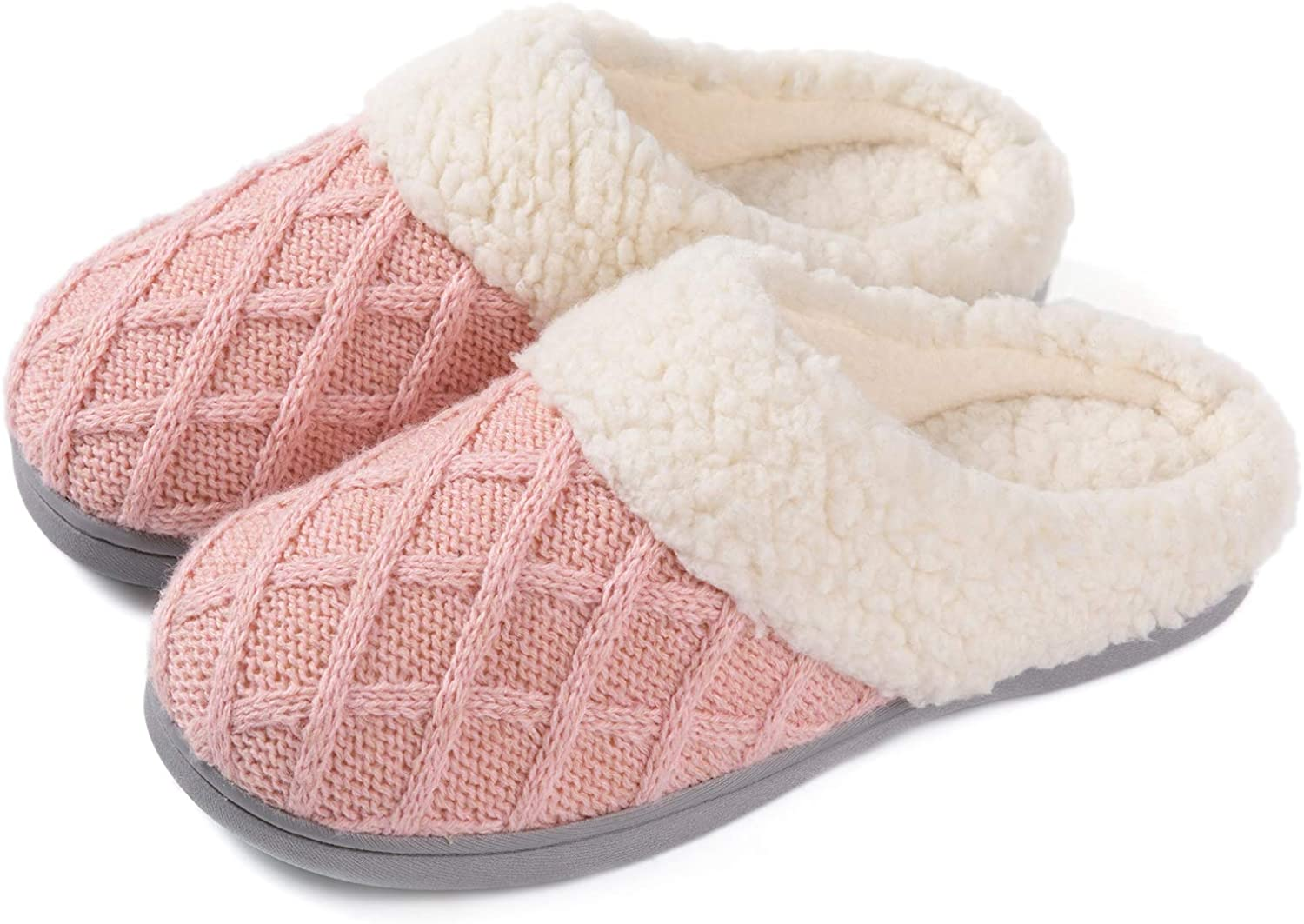 Girls Memory Foam Slippers Mule Slip in a Gift Box