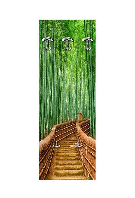 Lupia Perchero de Pared 49 x 139 cm Bridge Bamboo: Amazon.es ...