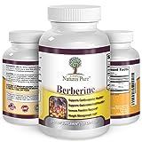 Premium Berberine HCl 500mg - 120 capsules