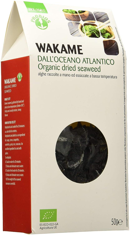 Probios Alghe Wakame Bio - 50 g