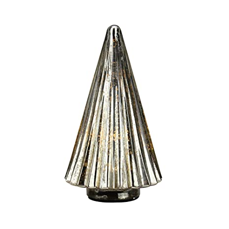 "buy popular 16b78 a1f96 Amazon.com: Raz 12"" Lighted Yellow Mercury Glass Christmas ..."
