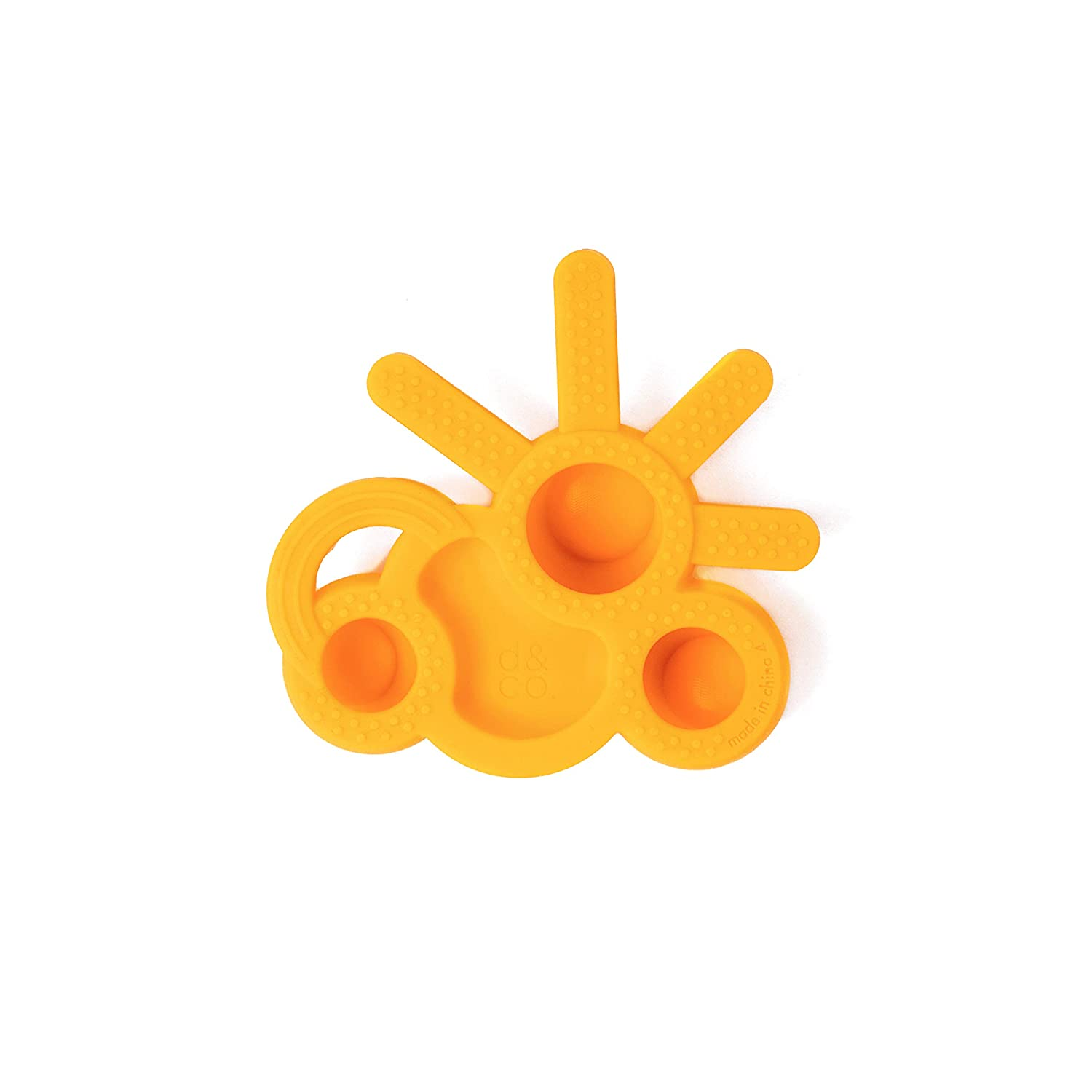 The Chew Teether DODDLE /& CO.. Sun//Rain Toddler Teething Fidget Toy Pack of 2 100/% Silicone Like Bubble Wrap But Better Poppable Bubbles BPA Free