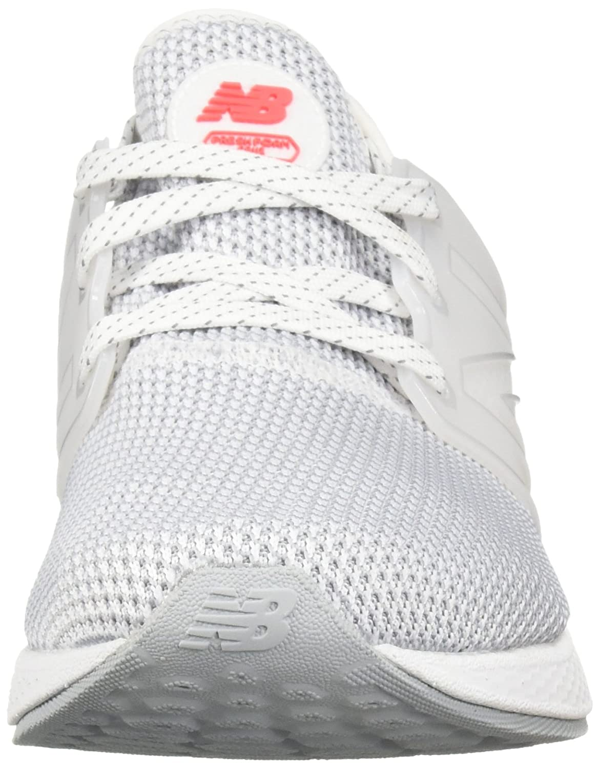 New Balance Women's Fresh Foam Cruz V1 Running Shoe B07514FLJK 10.5 D US|White/White