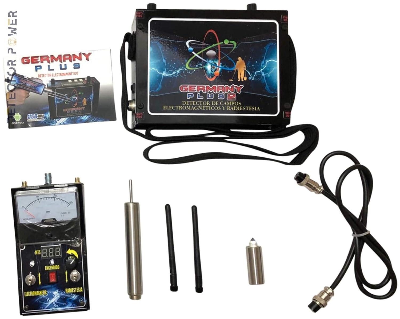 Amazon.com : Germany Plus 2 Detector de Metales - Localizador Profesional - Long Range - Detector Escaner de Profundidad y de Distancia | Encuentra Oro, ...