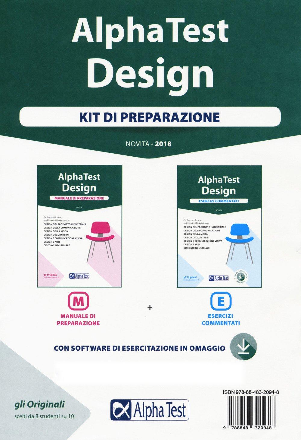 Amazonit Alpha Test Design Kit Di Preparazione Manuale Di