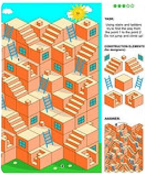 alfombrilla de ratón juego de laberinto 3d con las escaleras y escaleras: Amazon.es: Electrónica