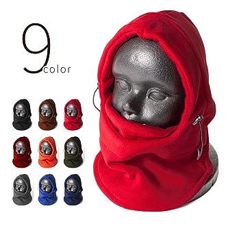 9color フリース フェイスマスク