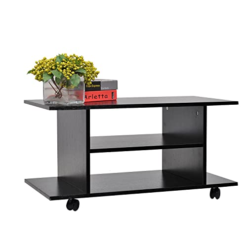 Heavy Duty Mobile Tv Stand With Shelf Amp Wheels For Amazon