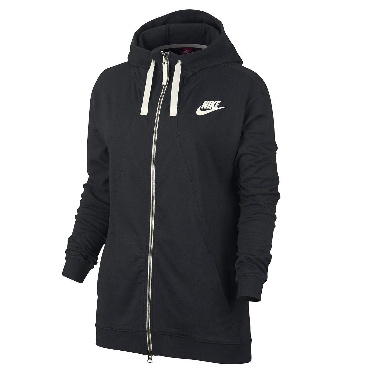 Nike Damen NSW Gym CLC Fz Kapuzenpullover, EU