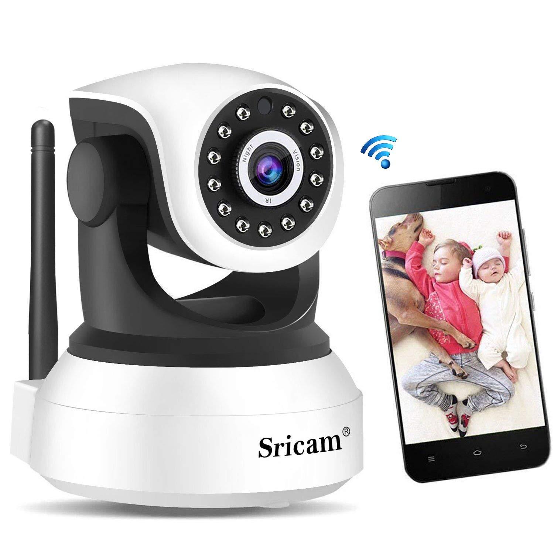 Sricam Cámara de Vigilancia, Cámara IP Wifi Calidad 720P ,Cámara seguridad wifi Interior Inalámbrico