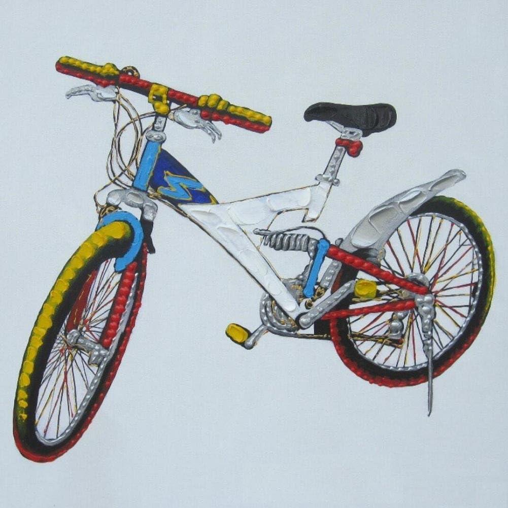 AIIYYN Puro Pintado de Cuadro Mode Bicicletas fácil Pared malereien: Amazon.es: Juguetes y juegos