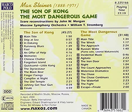 Steiner: Son Of Kong (The) / The Most Dangerous Game
