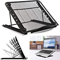 Adjustable Laptop Stand Foldable Tablet Laptop Stand Holder Portable Ventilated Universal Lightweight Ergonomic Tray…