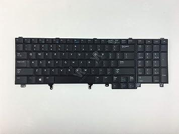Teclado retroiluminado original Dell Latitude E6520 US 0564JN 564JN