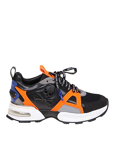 costo moderato cerca ufficiale vari stili PHILIPP PLEIN Sneakers Uomo MSC1889PLE075N0220 Pelle Nero ...