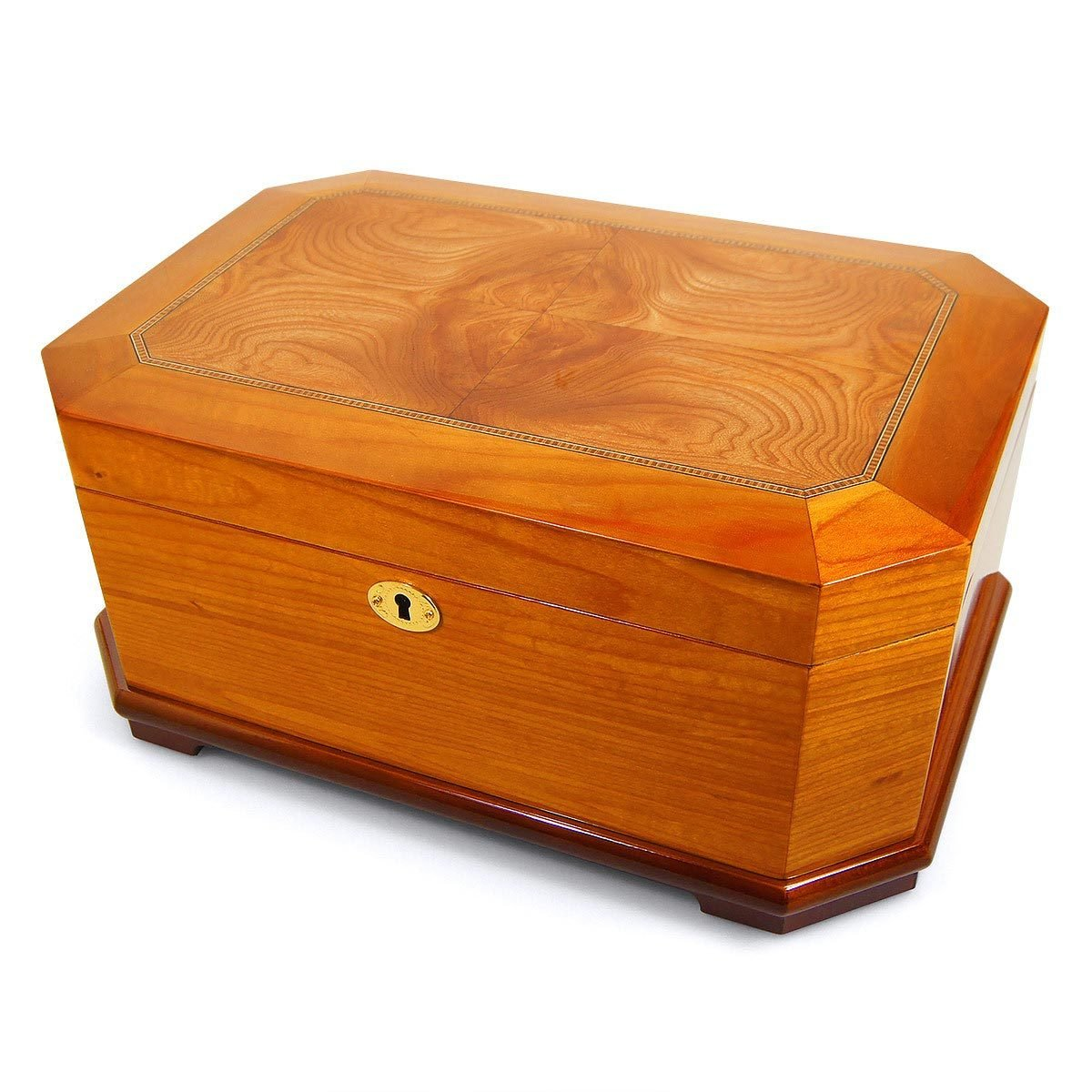 Cigar Humidor Cuban Crafters Olmo Cubano for 30 Cigars