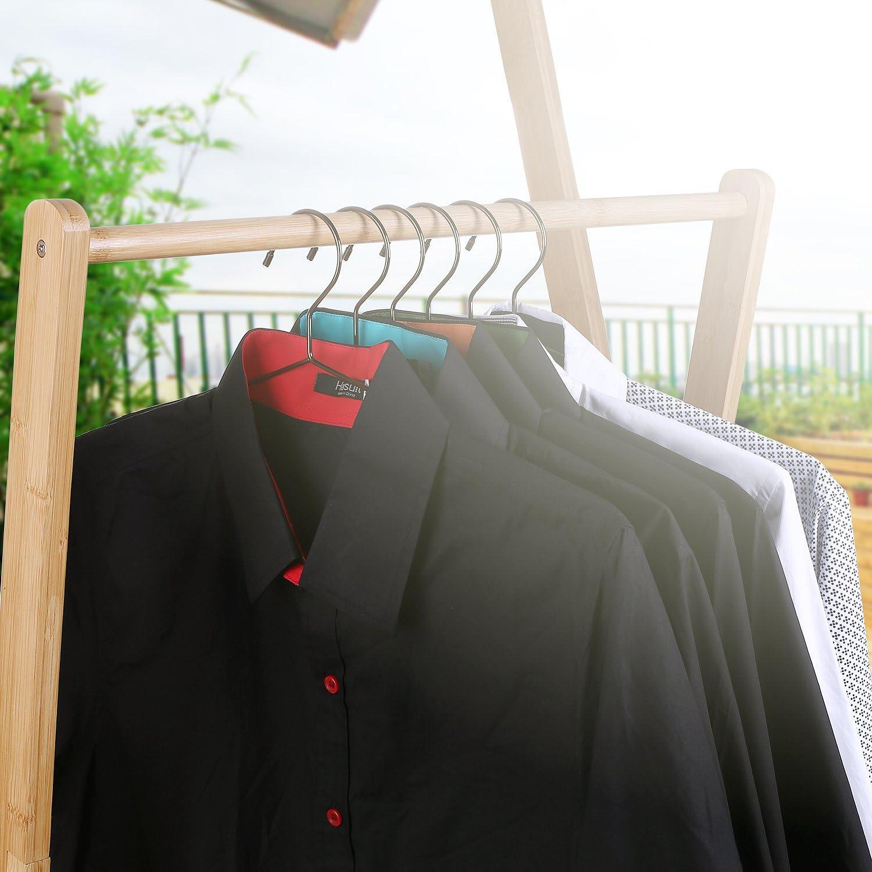 Standard Anzug Kleiderb/ügel 30 Pack Kleiderb/ügel Kleiderb/ügel Jetdio 45CM Edelstahl Starke Metall Wire Kleiderb/ügel