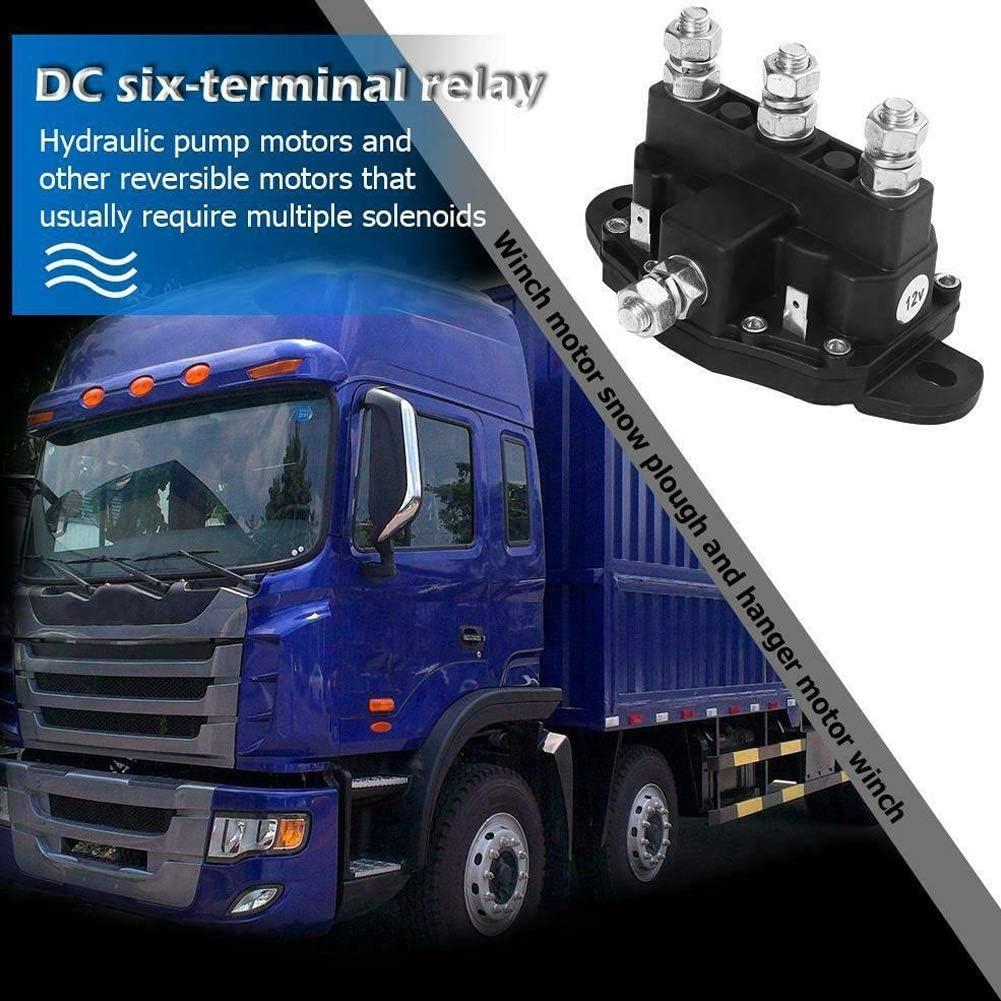 RETYLY Moteur de Treuil de Relais 6 Inversant Le Commutateur de Sol/éNo?de pour Le Camion de Construction 214-1211A11 214-1211A11-06