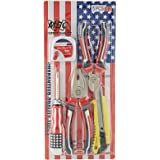 Mbc Tool Set Of 3, Red and Black