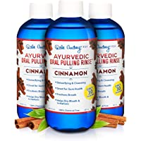 Dale Audrey | Oil Pulling Ayurvedic Mouthwash, 3 Pack | Natural Cinnamon Oral Health Rinse, Whitens Teeth, Healthy Gums…