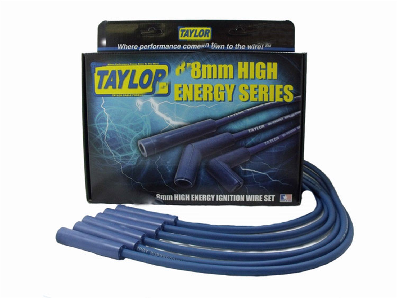 Ford Racing M12259M302 9mm Black Universal Spark Plug Wire Set