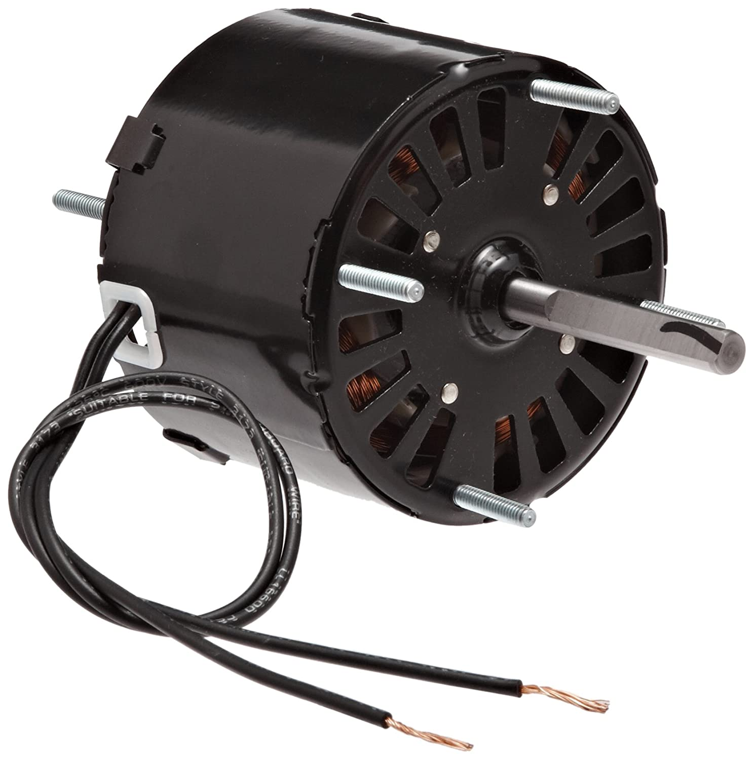 Fasco D126 3.3-Inch Frame Open Ventilated Shaded Pole General Purpose Motor with  Sleeve Bearing, 1/40HP, 1500RPM, 115V, 60Hz, 1.1 Amps