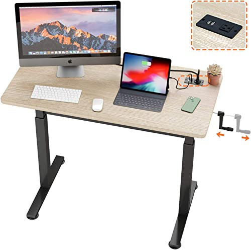 Reviewed: Bestier Crank Stand Up Desk