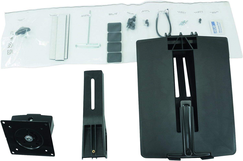 Ergotron WorkFit Conversion Kit: Dual to LCD & Laptop, Black