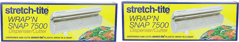 Тwo Рack Polyvinyl Films Inc Stretch-tite WrapN Snap 7500 Dispenser