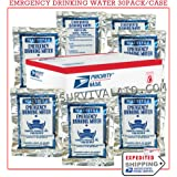 Mainstay Emergency Water Rations (15 Day Supply - 30x4.2oz. Water Packets)