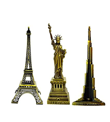aa2d553df4 Lilone Gifting Special Combo Of Paris Eiffel Tower , Statue Of Liberty,Burj  Khalifa
