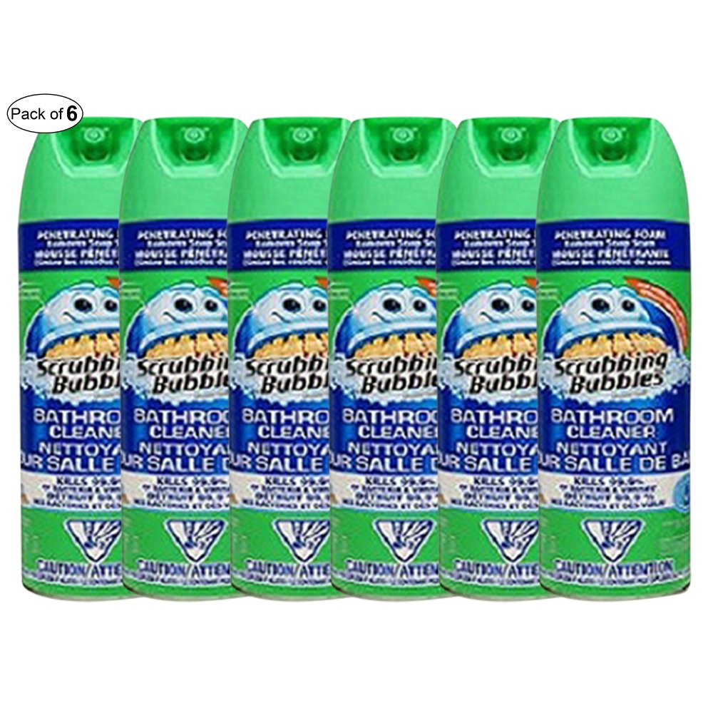 Scrubbing Bubbles Bathroom Cleaner Fresh (623g) (Pack of 6)