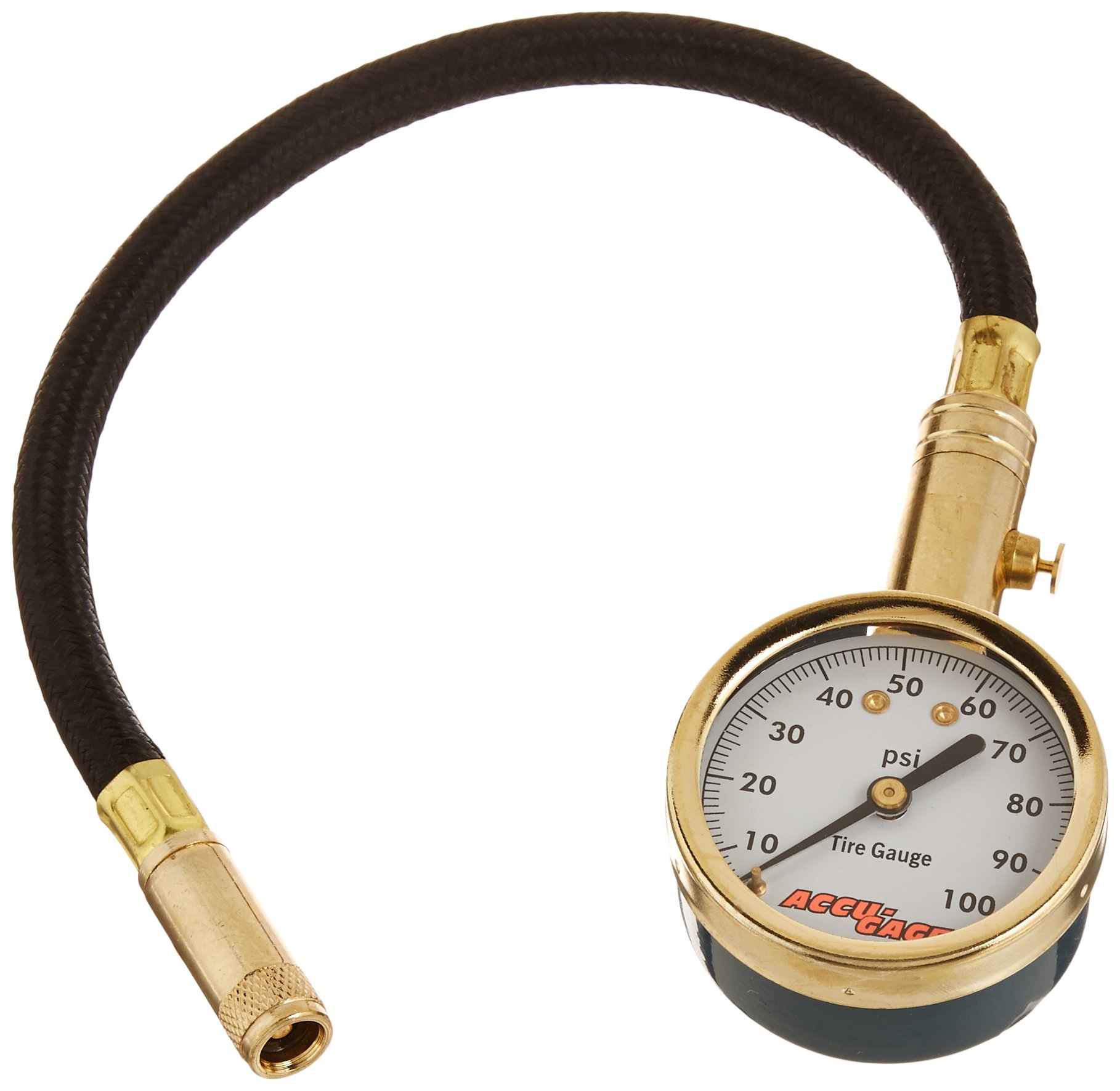 Accu-Gage H100X PSI Dial Tire Gauge by Accu-Gage (Image #1)