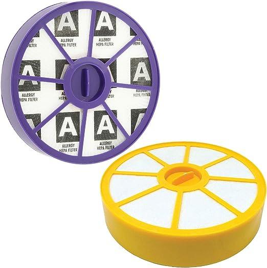 Filtro lavable Pre motor y kit de filtros HEPA alérgicos Post Motor Para aspiradoras Dyson DC05 DC08: Amazon.es: Hogar