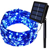 Solarmks Solar Lights - Outdoor Solar Christmas Lights 150 LED Fairy Lights Waterproof Solar String Lights Outdoor…
