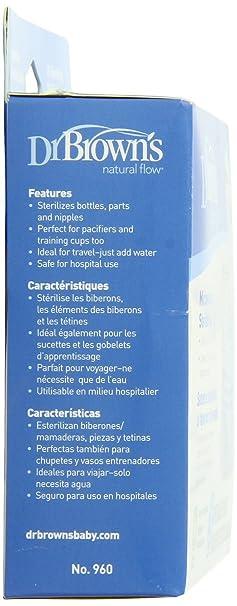 Amazon.com: Dr. Brown s bolsas de microondas esterilizador ...